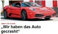 Ring Folies : qui a cassé le prototype Ferrari F430 ? Schumi ?