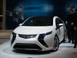 L'Opel Ampera hybride récompensée