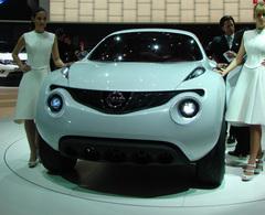 Nissan Qazana en direct de Genève : prêt pour la commercialisation