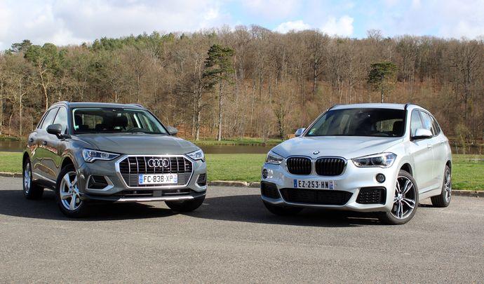 Comparatif vidéo - BMW X1 vs Audi Q3 : vieilles connaissances