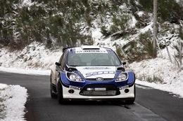 Mikko Hirvonen teste la Ford Fiesta S2000 en Ardèche (+vidéo)