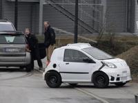 Les futures Smart Fortwo et Renault Twingo se testent...