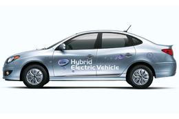 La Hyundai Avante LPI Hybrid lancée