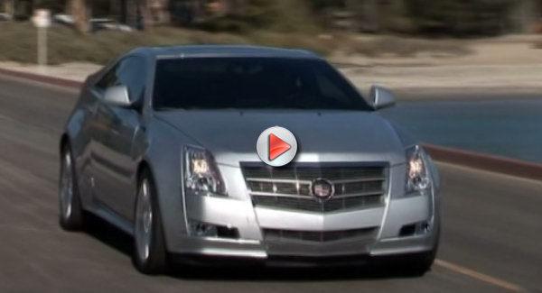[Vidéo] Le nouveau Coupé Cadillac CTS Prend la route