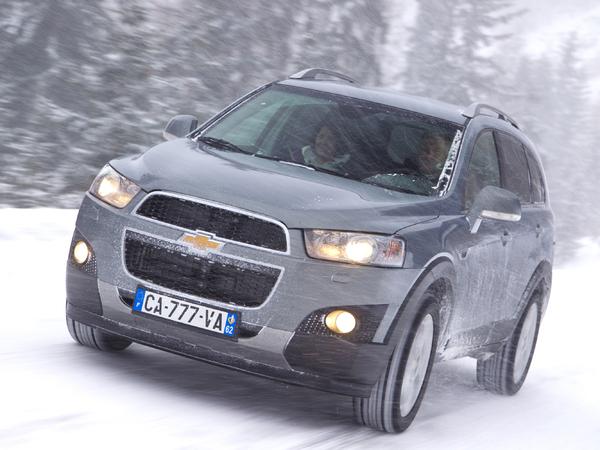 Chevrolet Captiva évolué à partir de 22990 €