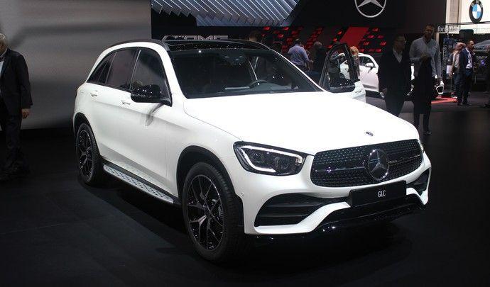 Mercedes GLC restylé : repoudrage léger - Vidéo en direct du salon de Genève 2019