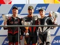 Pirelli remporte la première course E-Power.