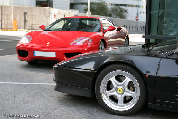 Photos du jour : Ferrari Testarossa & 360 Modena