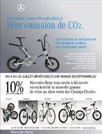 Des nouveaux vélos Mercedes-Benz bientôt exposés