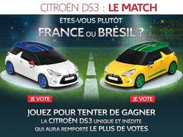 """(Minuit chicanes) Pourquoi le match Citroën DS3 """"France"""" vs. Citroën DS3 """"Brésil"""" nous passionne tant"""