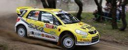 WRC Finlande : Suzuki fait évoluer sa SX4
