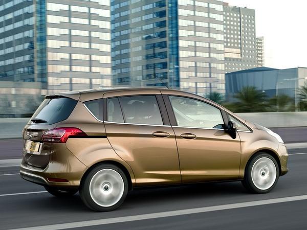 Ford lance la série spéciale B-MAX EcoBoost Edition