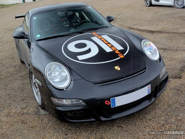 Photos du jour : Porsche 911 997 GT3 (Cars & Coffee Paris)