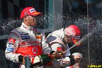 GP d'Australie : carton plein pour l'écurie Vodafone McLaren Mercedes