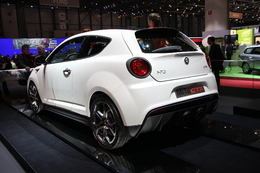 Alfa Romeo MiTo GTA : boule de nerf, Bogdanoff style