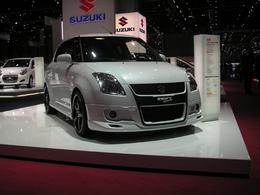Un stand Suzuki bien calme, mais...