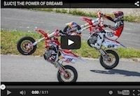 "Luc1: ""The power of dreams"" (Dani Pedrosa) en vidéo"
