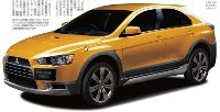 Future Mitsubishi Lancer Sportback X!