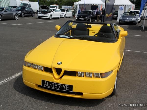 Photos du jour : Alfa Romeo RZ (Sport & Collection)