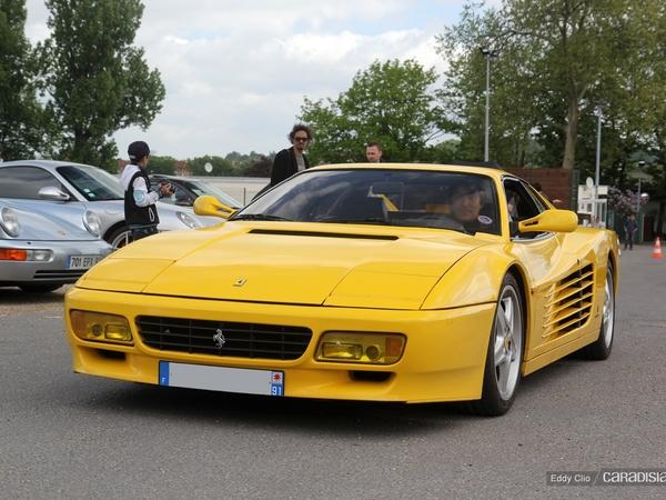 Photos du jour : Ferrari 512 TR (Cars & Coffee Paris)