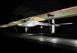 Un projet d'avion solaire : le Solar Impulse HB-SIA