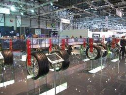 Pirelli expose ses produits écologiques