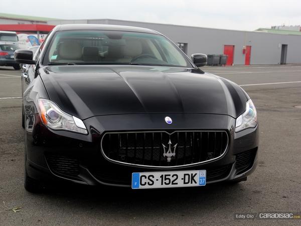 Photos du jour : Maserati Quattroporte (Sport & Collection)