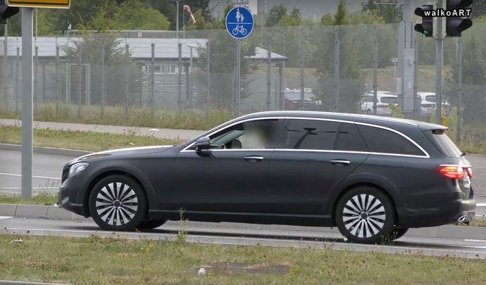 Scoop : le break surélevé Mercedes Classe E All Terrain de sortie