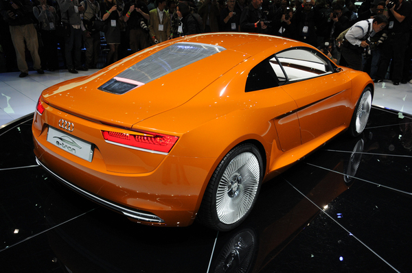Salon de Los Angeles : Audi repeint son e-tron