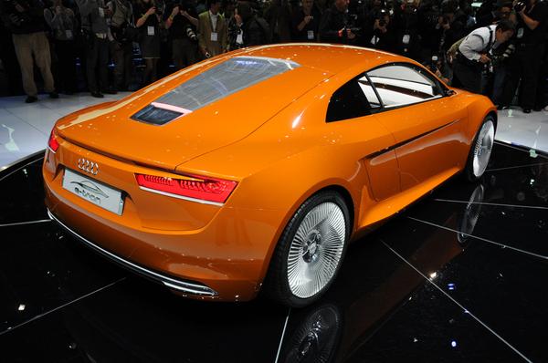 Salon de Los Angeles : Audi repeint son e-tron