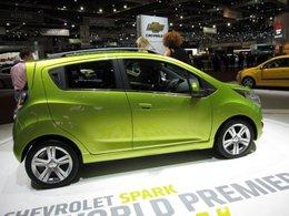 Première mondiale : la Chevrolet Spark