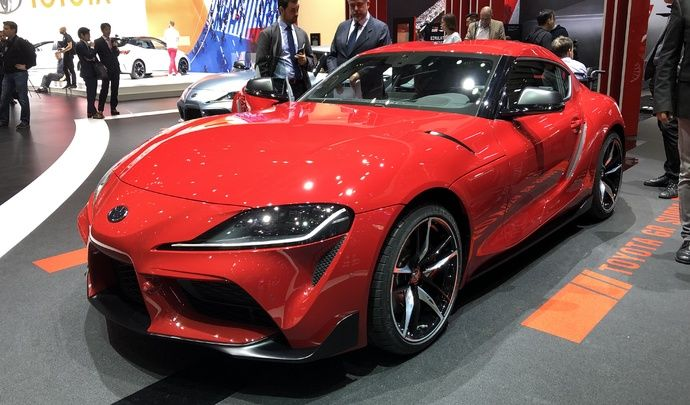 Toyota Supra : sensations garanties - Vidéo en direct du Salon de Genève 2019