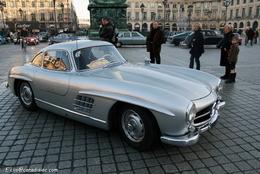Photos du jour : Mercedes 300 SL