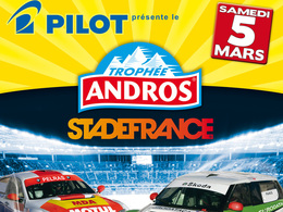 Le Trophée Andros au Stade de France: c'est dans un mois, exactement, le 5 mars!