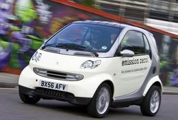 La Smart Fortwo électrique lancée au Royaume-Uni dès 2010