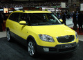 Skoda Fabia Scout en direct de Genève : Fabia off road