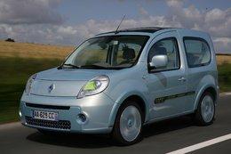 Un nouveau prototype de démonstration électrique : le Renault Kangoo be bop Z.E.