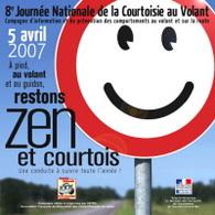 8e Journée nationale de la Courtoisie au volant et sur la route le 5 avril