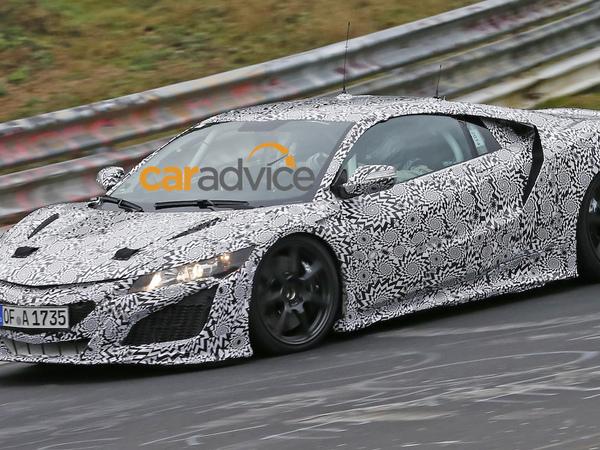 La future Honda NSX de retour au Nürburgring
