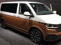 Volkswagen Multivan restylé: modernisation - En direct du salon de Genève