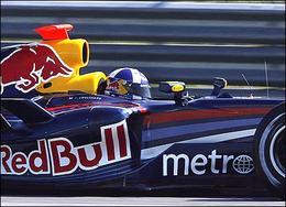 F1 Red Bull : 3 eme Grand prix pour le moteur de Coulthard !