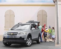 Chevrolet Captiva Family Pack: 3700 € de réduction grâce à internet