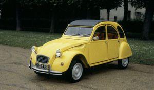 Citroën 2CV, voiture de collection la plus vendue en France
