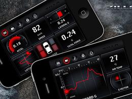 Zilla une application iPhone pour avoir un ordinateur de bord digne d'une Nissan GT-R