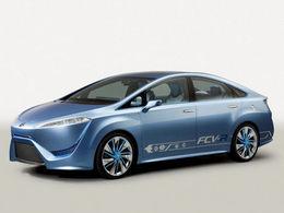 La future Toyota hydrogène présentée au salon de Tokyo et commercialisée en 2014