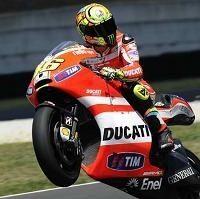 Moto GP - Ducati: Valentino Rossi heureux de sa GP12 et du nouveau Mugello