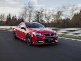 Le Holden VF Ute établit le nouveau record du Nurburgring chez les utilitaires