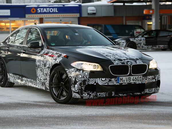 BMW M5 : un concept à Shanghai, le modèle définitif à Francfort