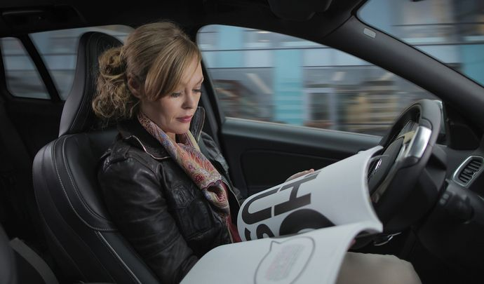 Volvo : encore un peu plus dans la voiture autonome avec Autoliv