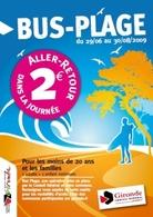 Vacances d'été : l'Opération Bus-Plage en Gironde